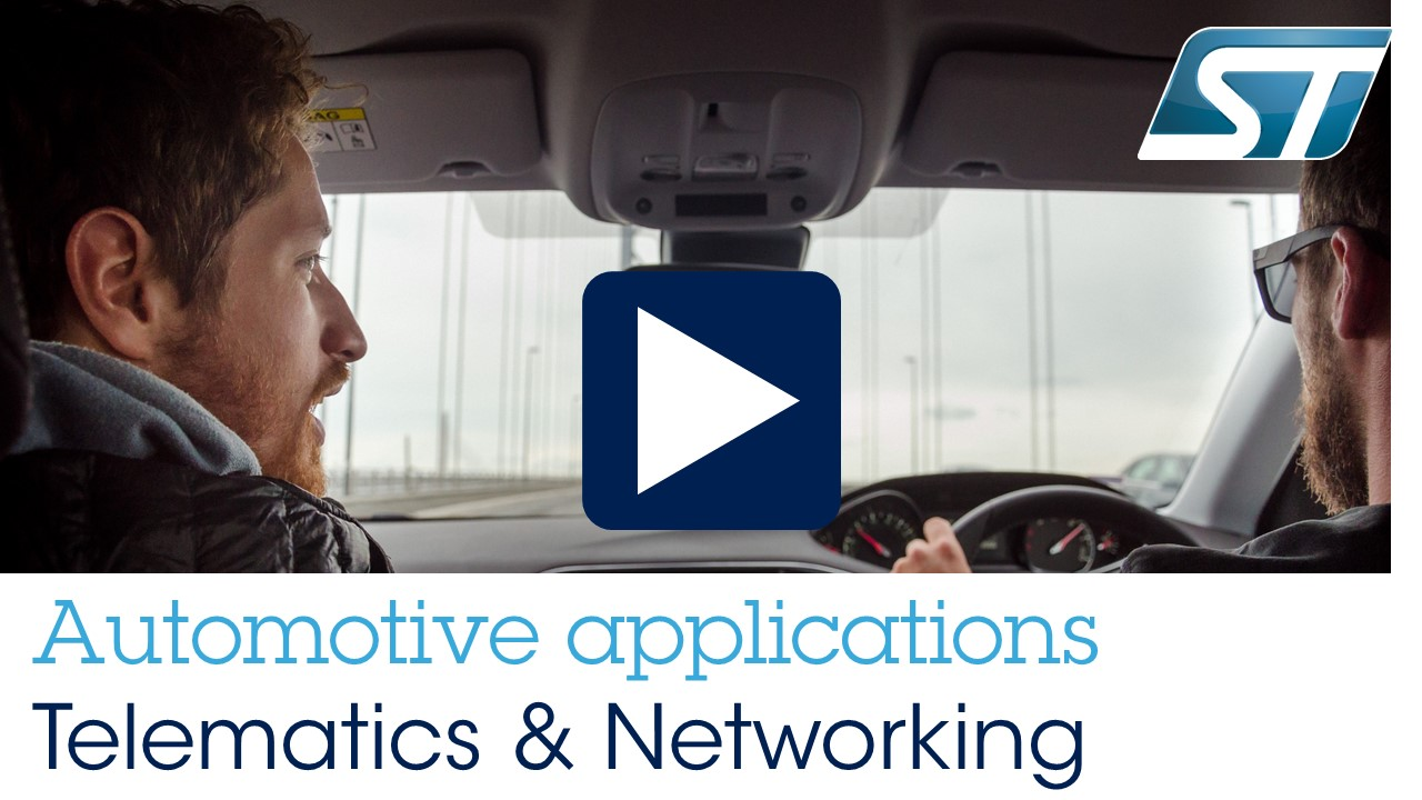 Automotive Applications - Telematics and Networking