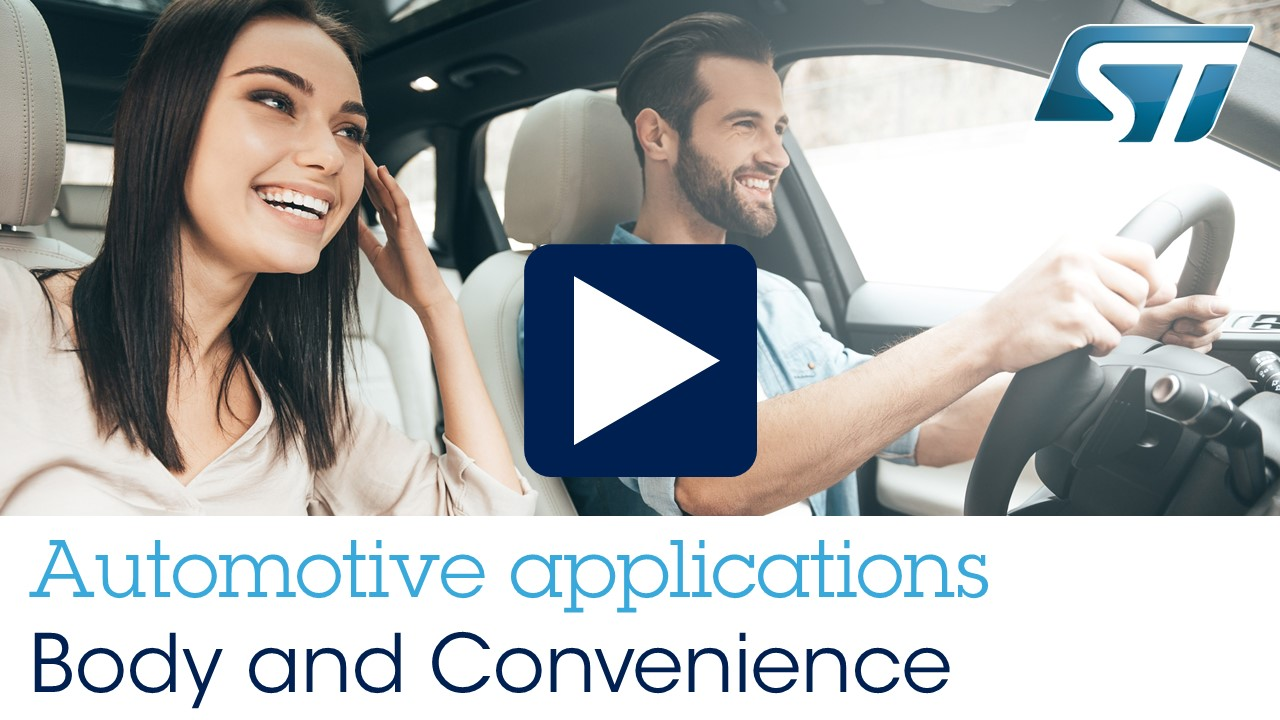 Automotive Applications - Body and Convenience