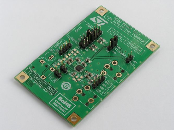 STEVAL-CCA023V1 - Demonstration board for low noise microphone