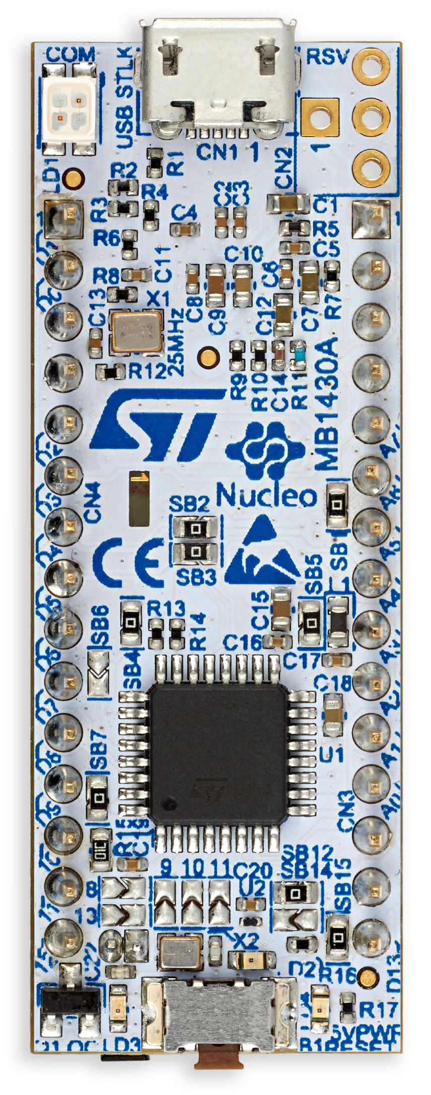 NUCLEO-G431KB - STM32 Nucleo-32 development board with STM32G431KB